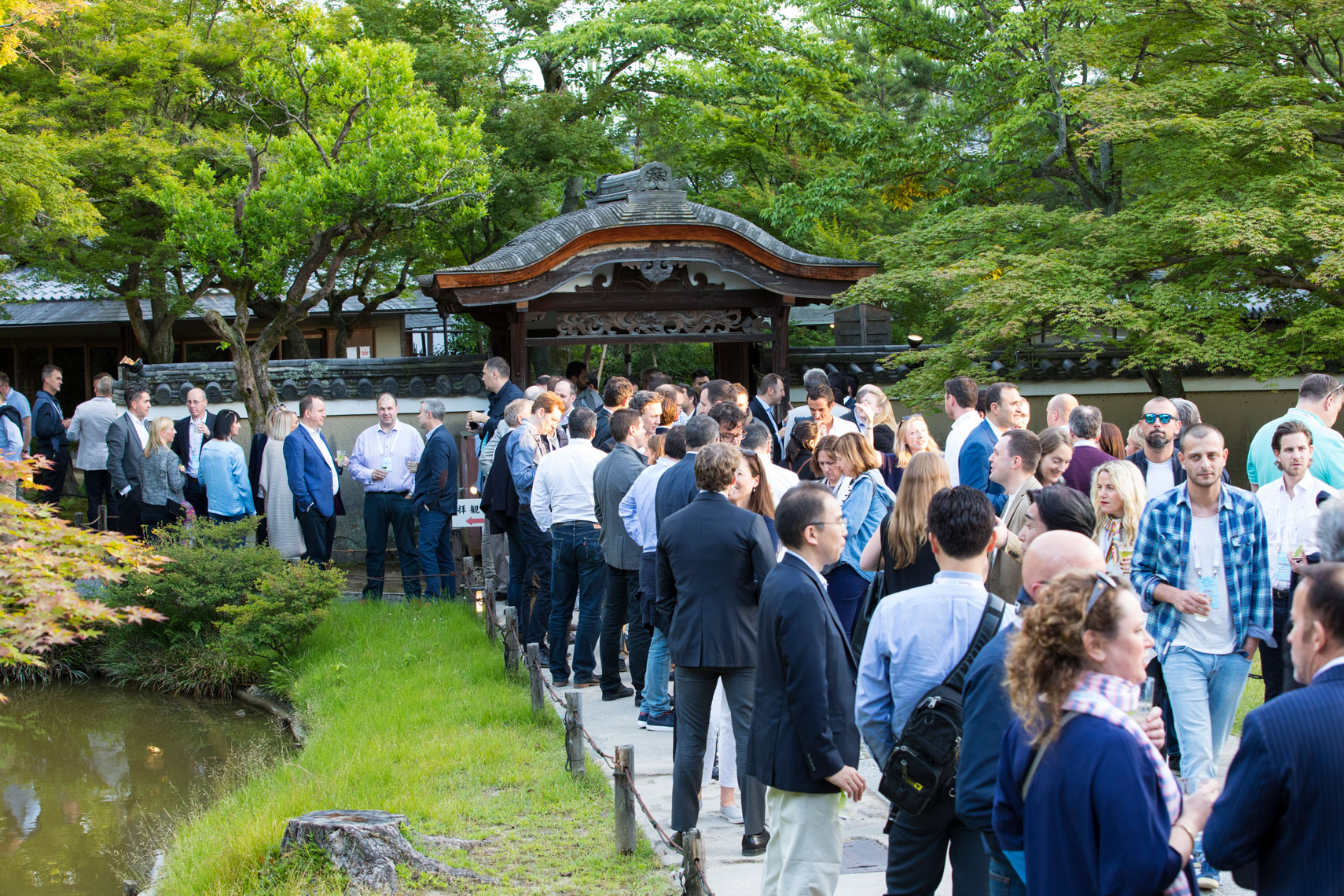 Beam Suntory World Conference in Kyoto